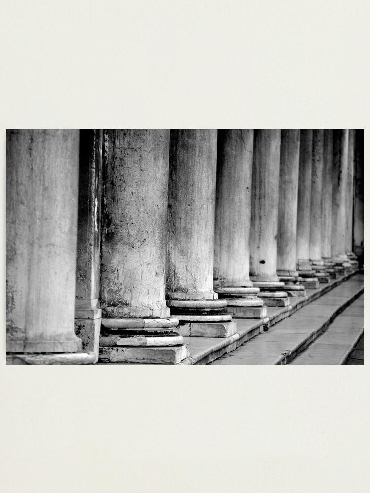 Alternate view of Columns, Procuratie Nuove Photographic Print