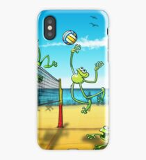 Volleyball Frog iPhone Case