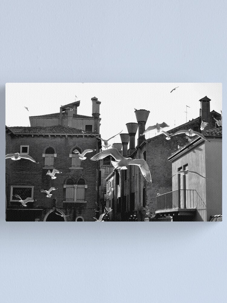 Alternate view of We're Off! Canvas Print