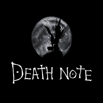 riuk in front of the moon - death note by DonBonanza