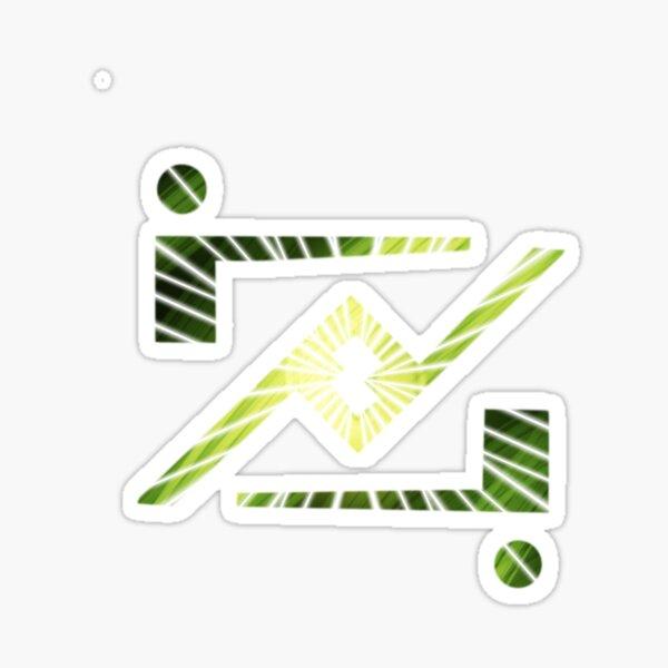 Kryptonian Symbol for Zod  Sticker