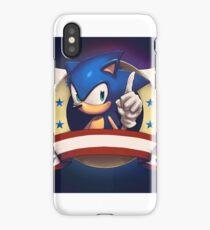 Sonic the Hedgehog Game Logo iPhone Case/Skin