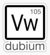 dubium Sticker