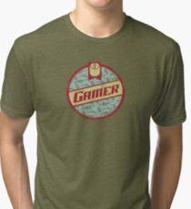 Gamer (vintage) Tri-blend T-Shirt