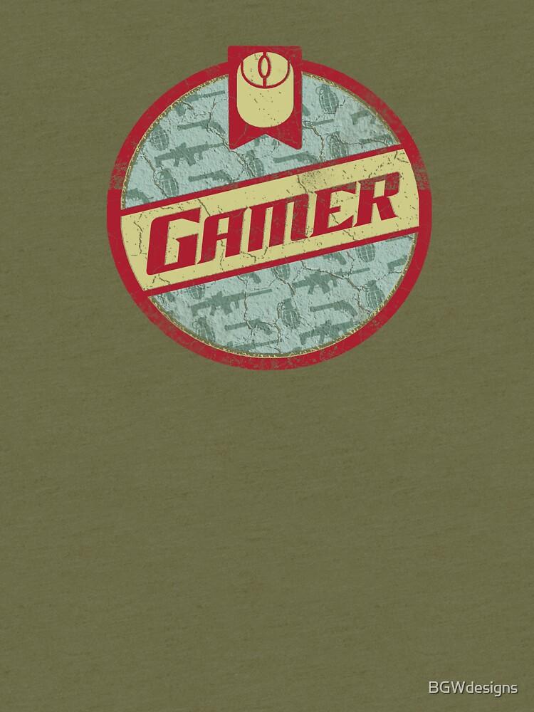 Gamer (vintage) by BGWdesigns