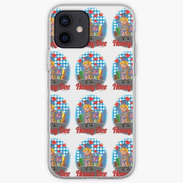Red Hearts And Honey Dee iPhone Soft Case