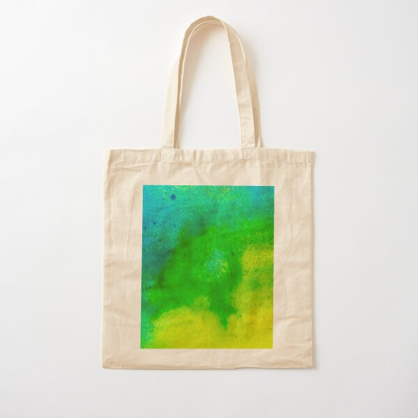 Color Spectrum Abstract Art Cotton Tote Bag
