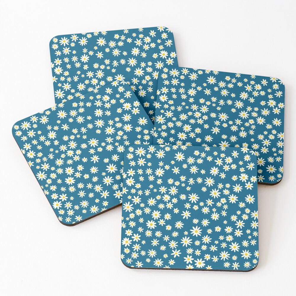 Daisies Coasters (Set of 4)
