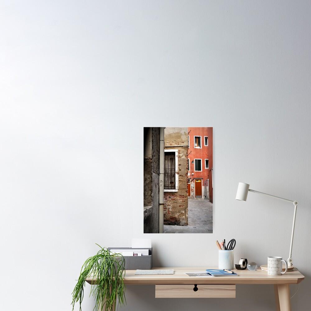 A Small Corner of Venice Poster