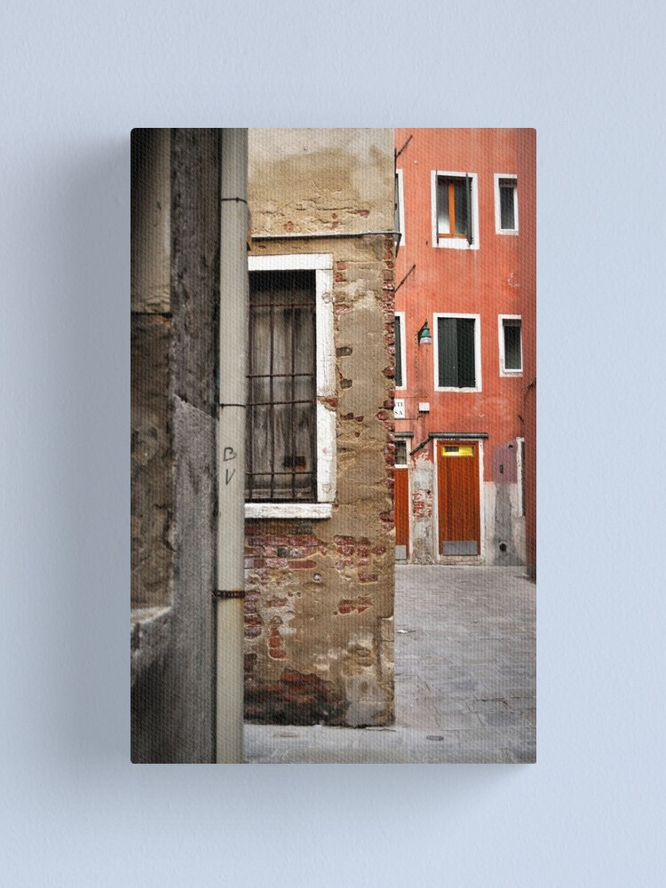 Alternate view of A Small Corner of Venice Canvas Print