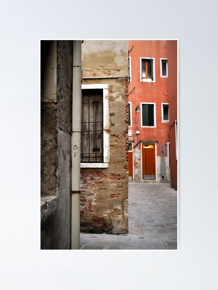 Alternate view of A Small Corner of Venice Poster