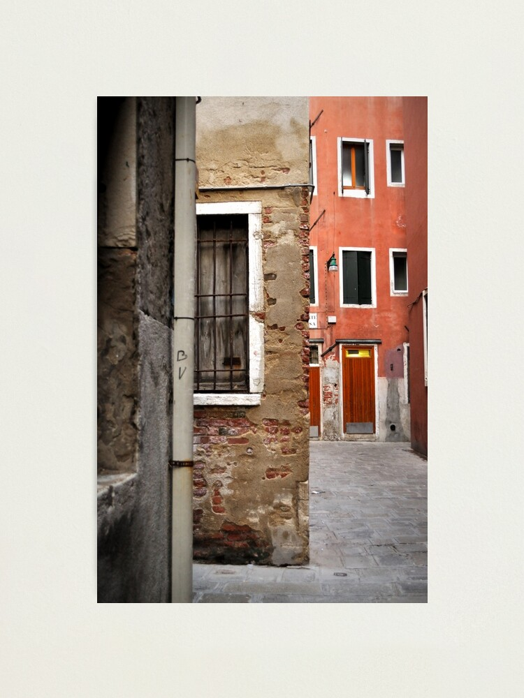 Alternate view of A Small Corner of Venice Photographic Print