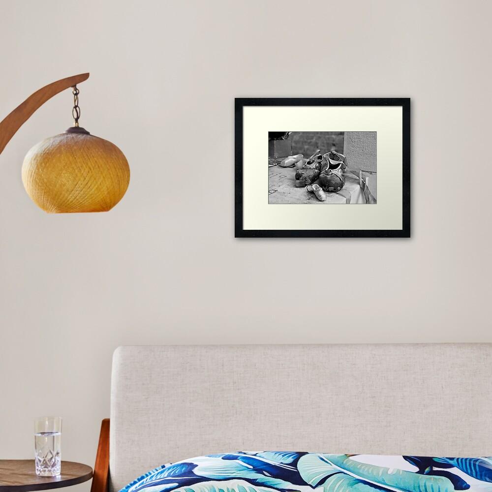 Diaghilev Tribute Framed Art Print