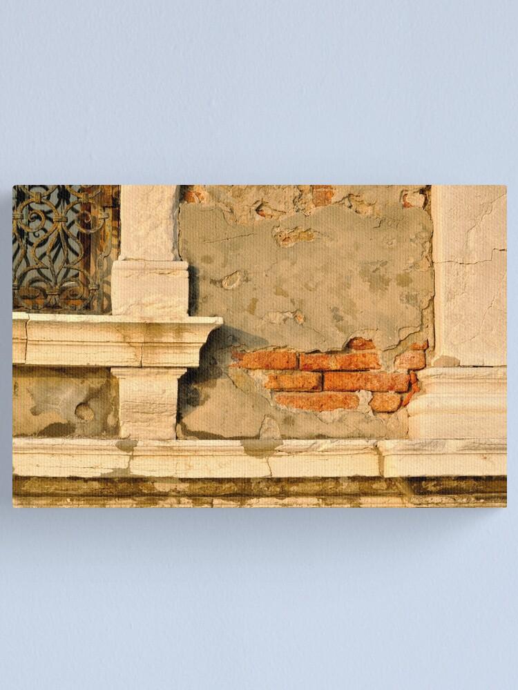 Alternate view of Beautifully Decrepit Canvas Print