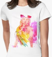 Dream within a Dream Women's Fitted T-Shirt
