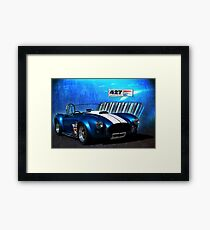 Blue Cobra Framed Print