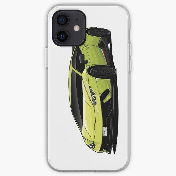 Lambo Huracan Performante iPhone Soft Case