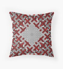Sayagata and Thai Layered 1 Throw Pillow