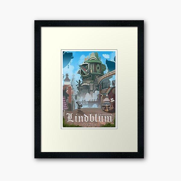Final Fantasy IX - Lindblum Framed Art Print