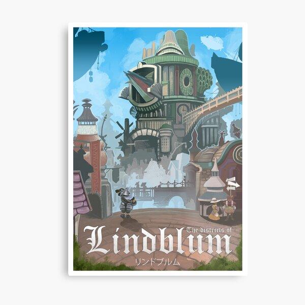 Final Fantasy IX - Lindblum Impression métallique