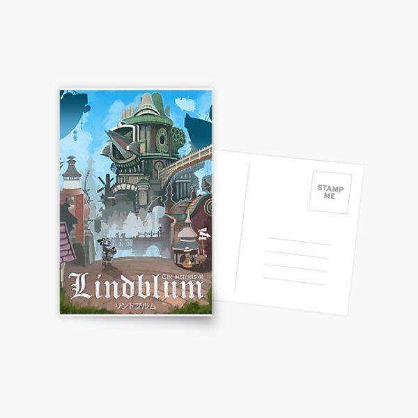 Final Fantasy IX - Lindblum Postal