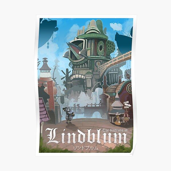 Final Fantasy IX - Lindblum Poster