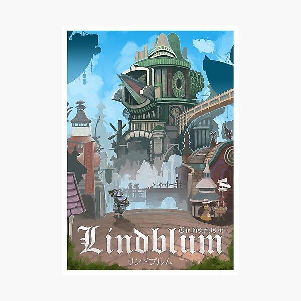 Final Fantasy IX - Lindblum Photographic Print