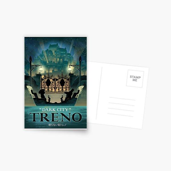 Final Fantasy IX - Treno Postcard