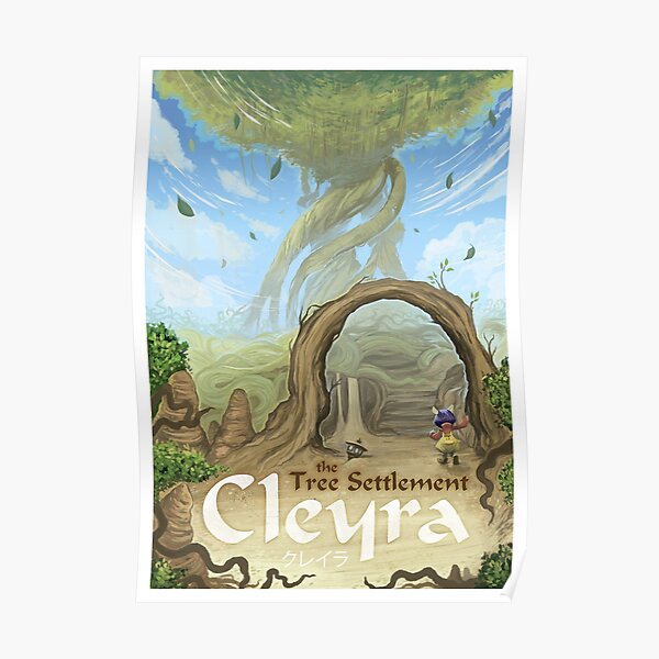 Final Fantasy IX - Cleyra Poster