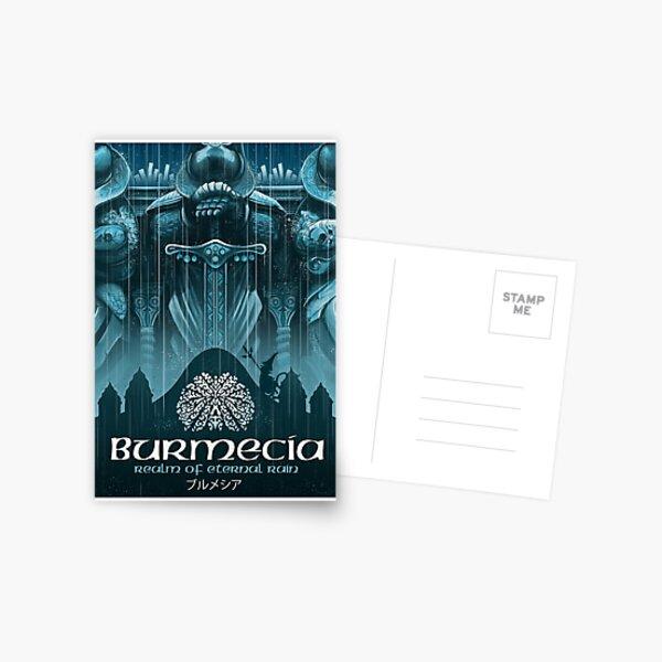 Final Fantasy IX - Burmecia Postcard