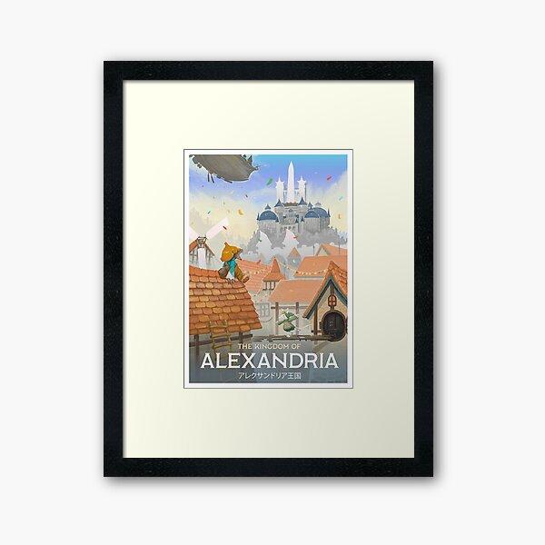 Final Fantasy IX - Alexandria Framed Art Print