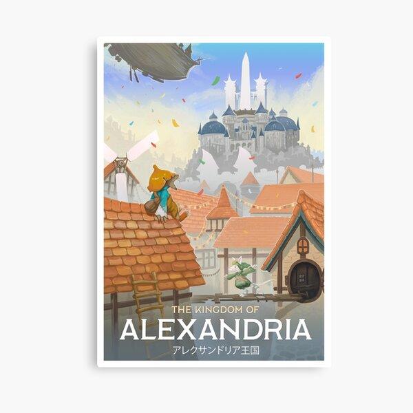 Final Fantasy IX - Alexandria Canvas Print