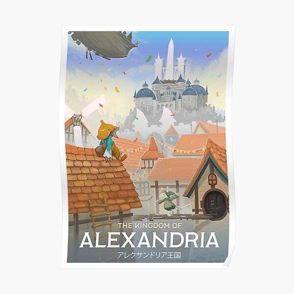 Final Fantasy IX - Alexandria Poster