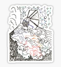 City On The Hill Sticker
