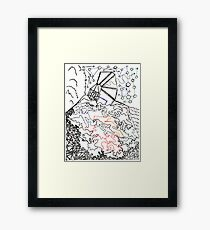 City On The Hill Framed Print