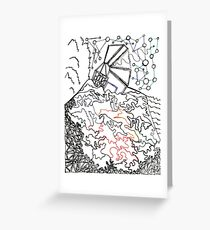 City On The Hill Greeting Card