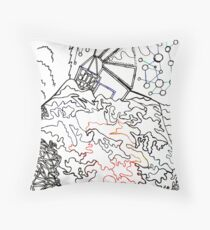 City On The Hill Throw Pillow