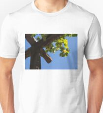 Blue Sky Grape Harvest - Thinking of Fine Wine T-Shirt
