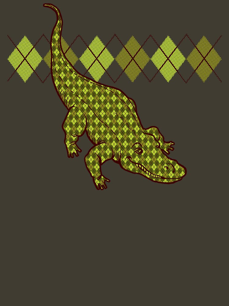 Artie the Argyle Alligator | Unisex T-Shirt