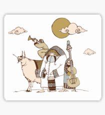 Wandering Troubadours Sticker