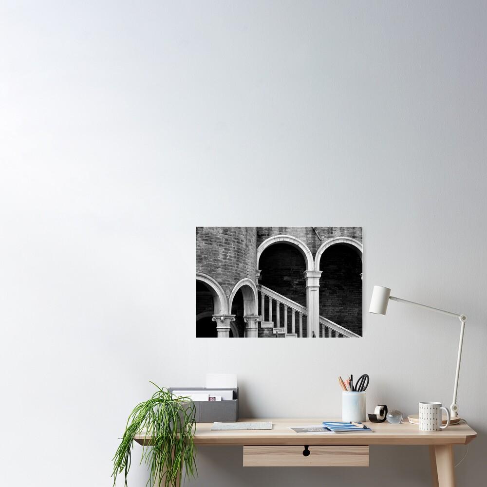 Palazzo Contarini detail I Poster