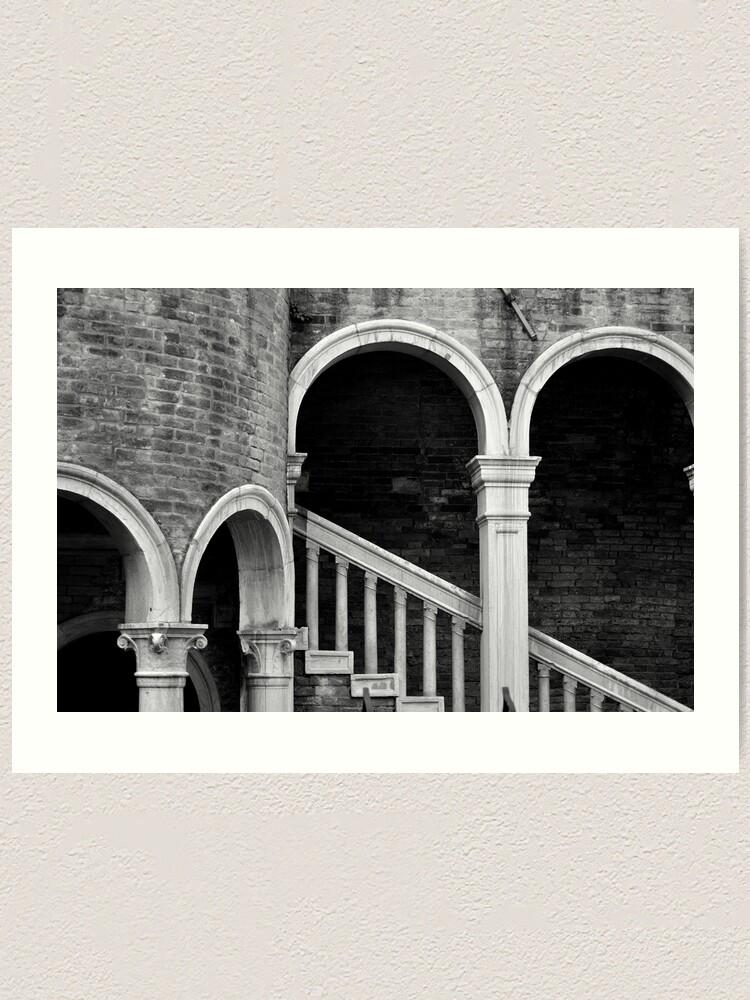 Alternate view of Palazzo Contarini detail I Art Print