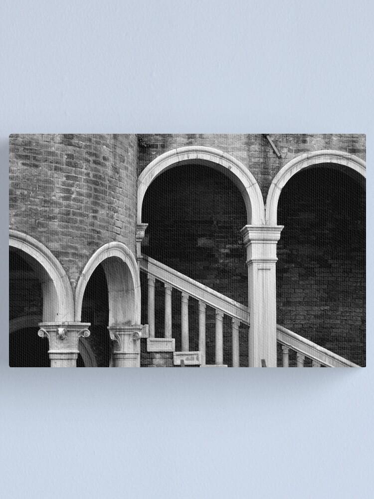 Alternate view of Palazzo Contarini detail I Canvas Print