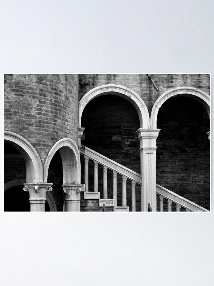 Alternate view of Palazzo Contarini detail I Poster
