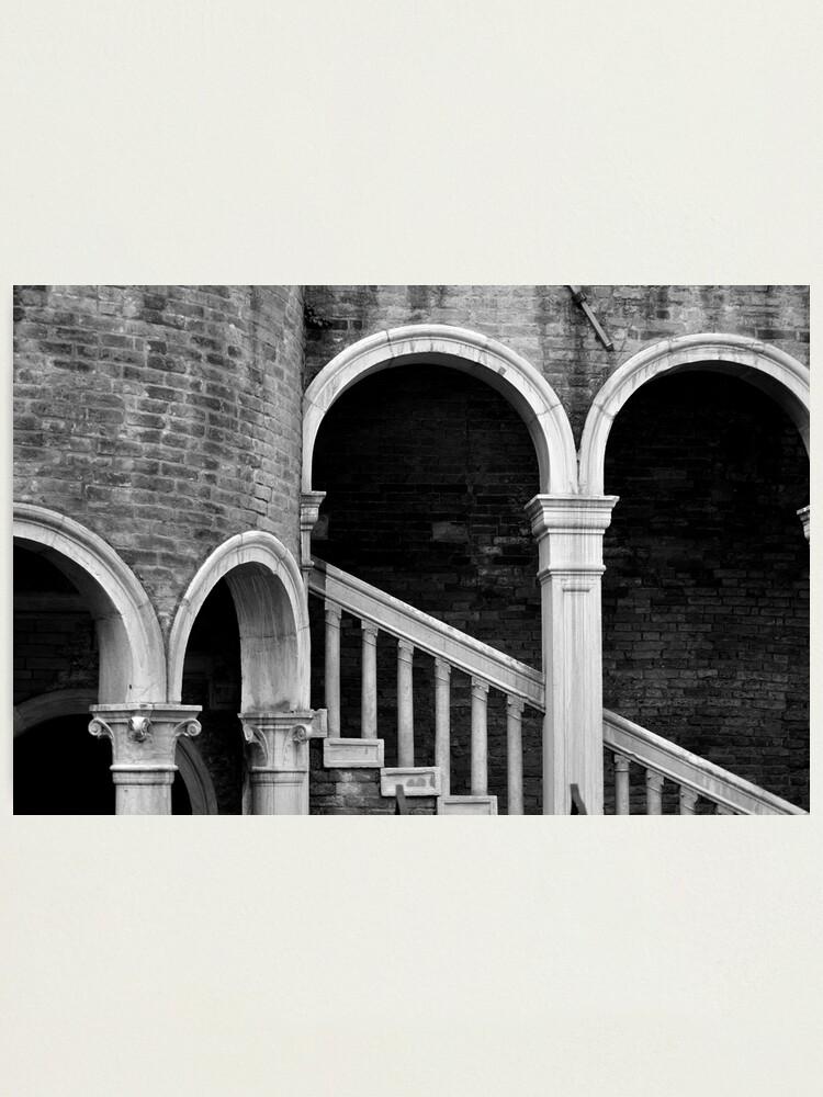 Alternate view of Palazzo Contarini detail I Photographic Print