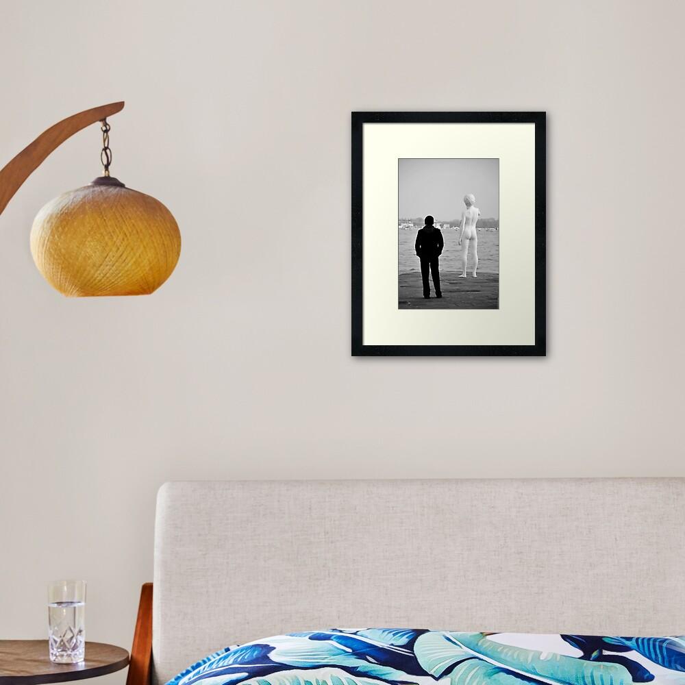 Art Lover Framed Art Print