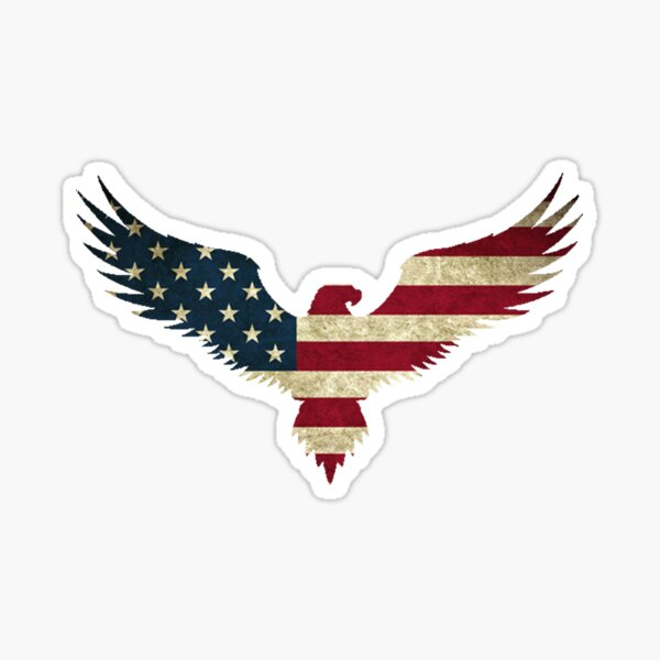 Bald Eagle- America Sticker