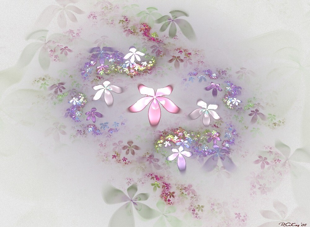 Orchids in the Mist by Bloodnok