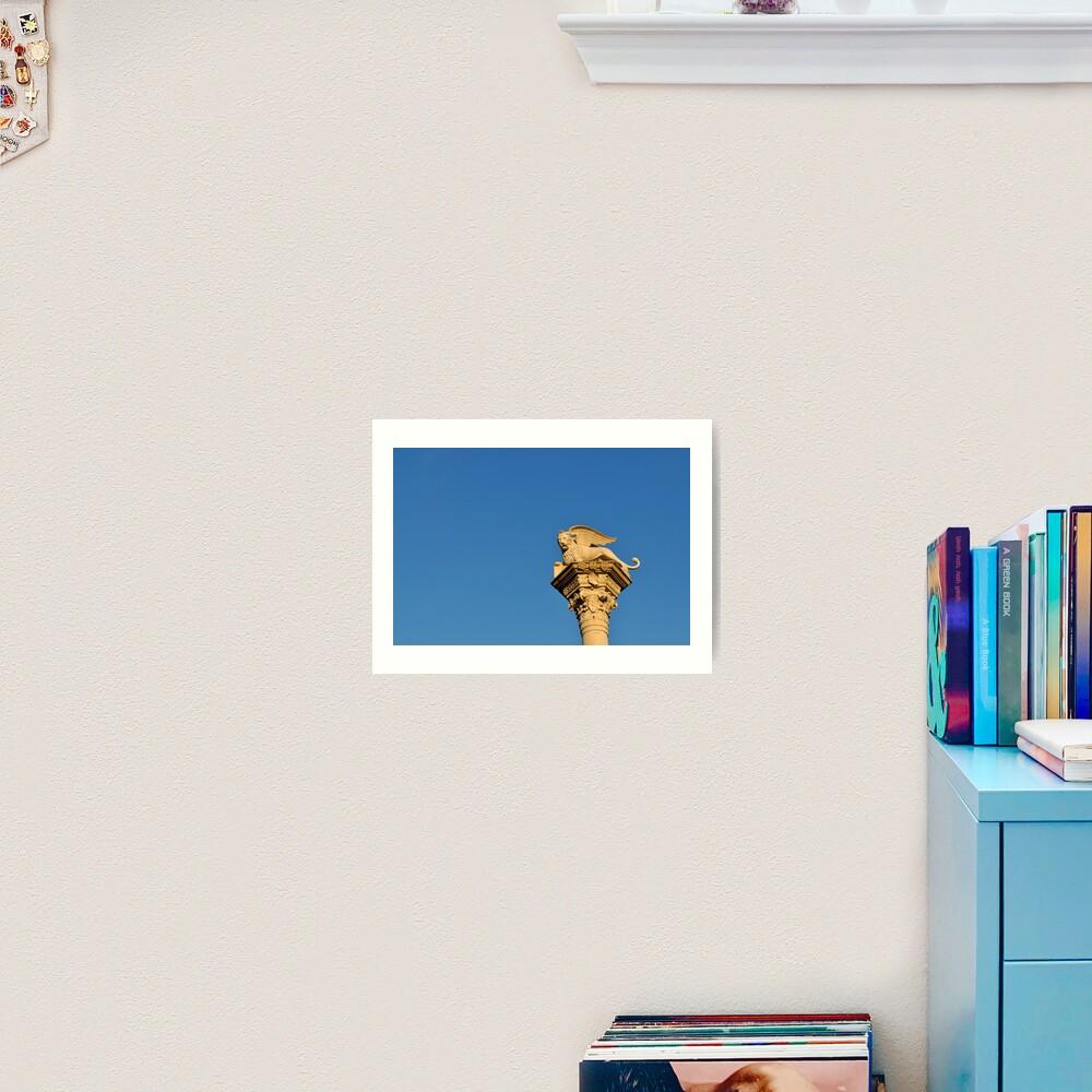 Blue Sky, Vicenza Art Print