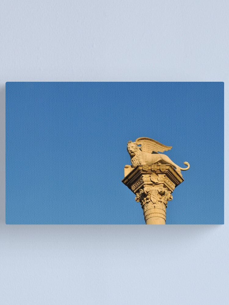 Alternate view of Blue Sky, Vicenza Canvas Print